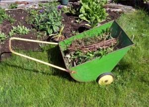 my handy Weed Wagon