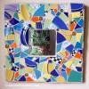 mosaic mirror w/50's dish