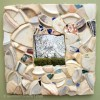 Beach Pottery Mirror by Helen Bushell, summerhouseart.com