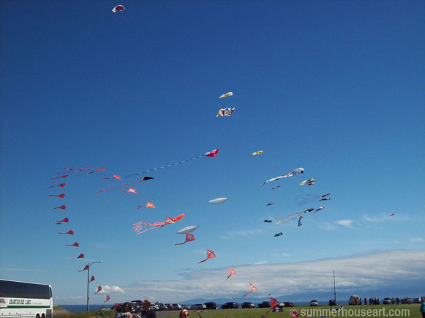 kites-in-blue-sky