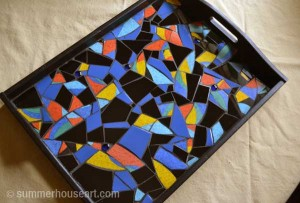 Toucan Tray by Helen Bushell, summerhouseart.com