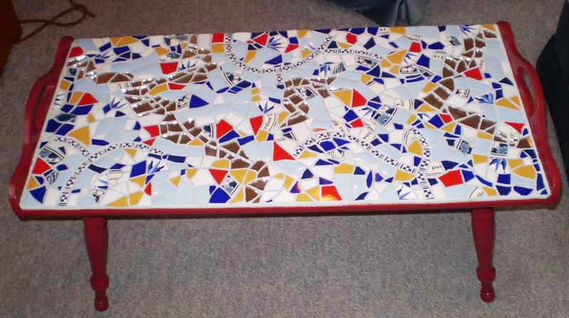 Murray Goode's Mosaic coffee table