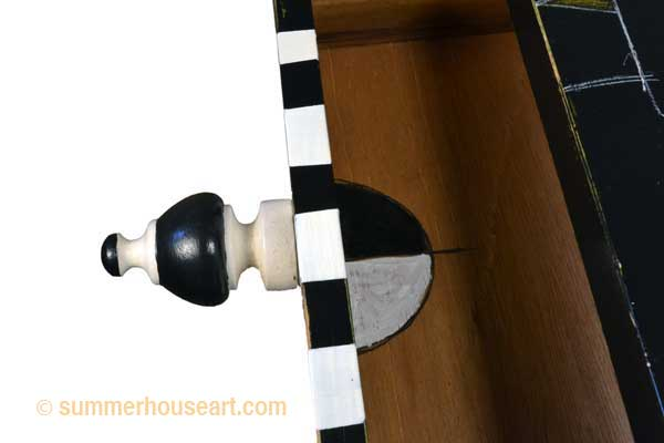 Night Flyer Table drawer pull