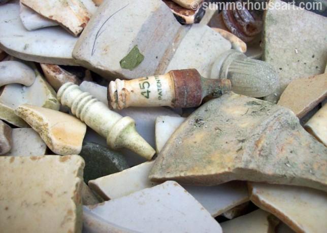 beach find, spark plugs-summerhouseart.com