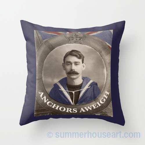Uncle Dave Pillow on Society 6,