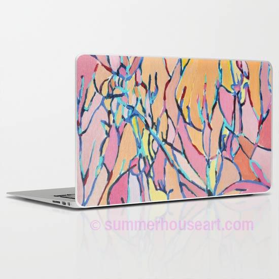 pink-branches-ipad-Society 6