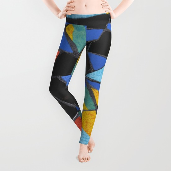 Toucan leggings Society6, by Helen Bushell, summerhouseart.com