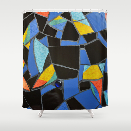 Toucan shower curtain Society 6 by summerhouseart.com