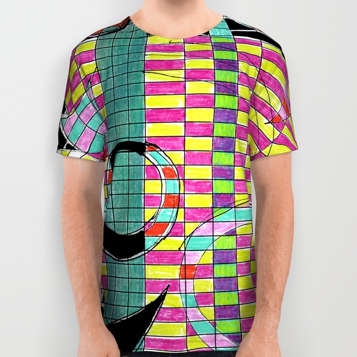 Spreadsheet Tango T-shirt by Helen Bushell, Summerhouse Art shop on Society 6