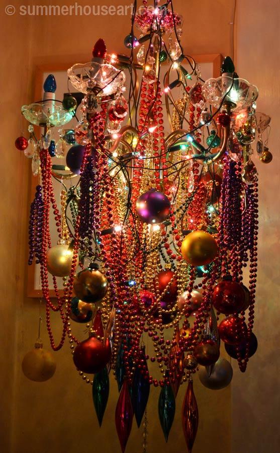 Christmas Chandelier, daytime, summerhouseart.com