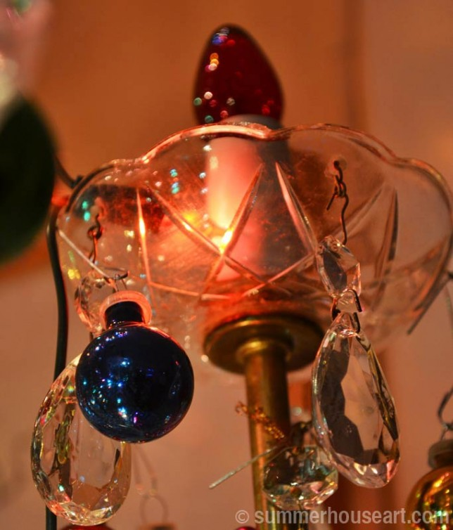 Christmas Chandelier, summerhouseart.com