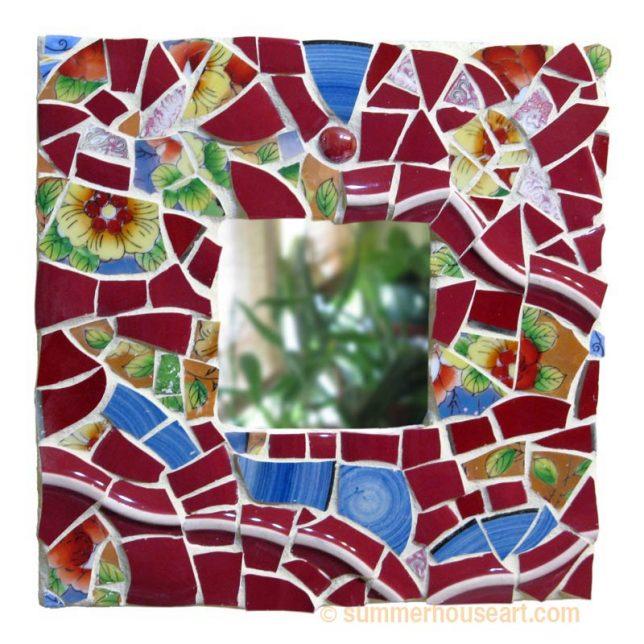 Student Irina's Finished Mosaic, summerhouseart.com