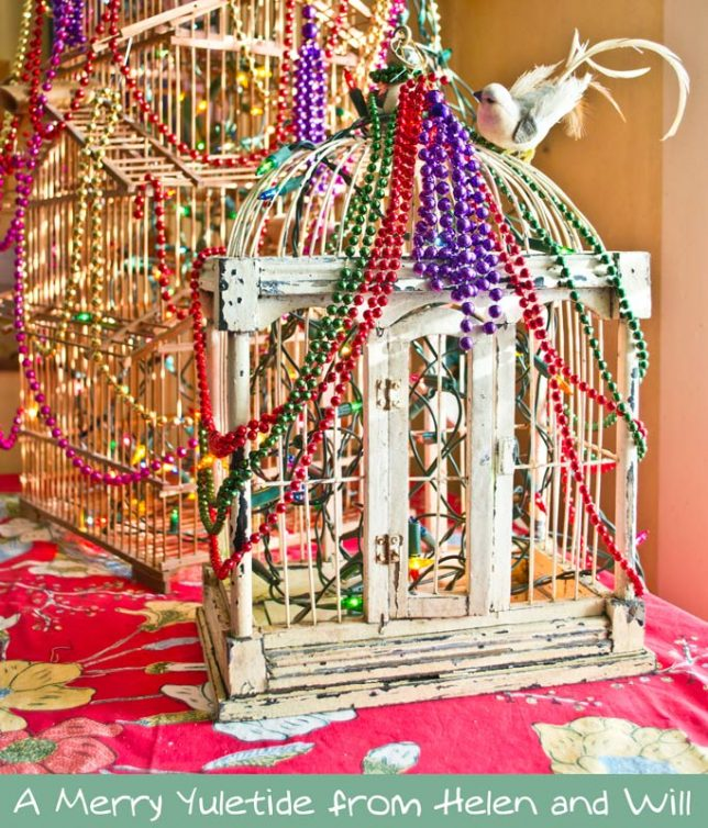 2016 Christmas bird cages, summerhouseart.com