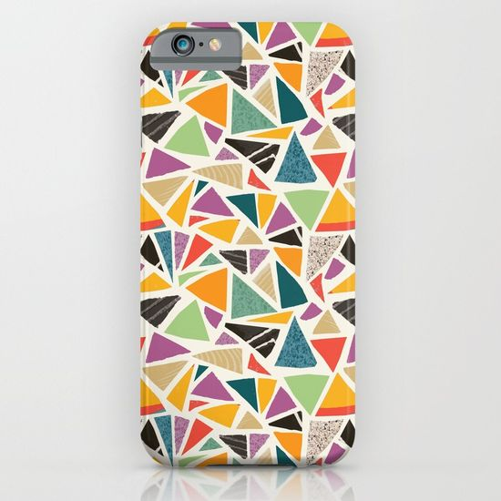 Triangle Treat-mosaic-cases by Summerhouseart on Society 6