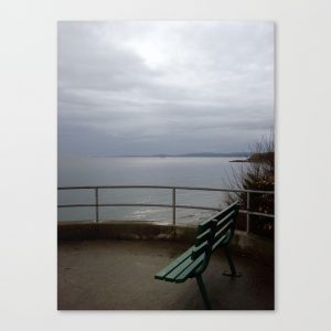 The View from the Beach, photo Will Bushell, Society6 shop, summerhouseart