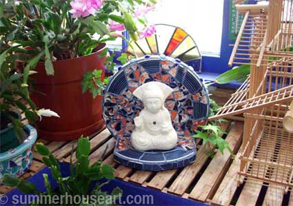 Buddha Shrine, Helen Bushell, summerhouseart.com