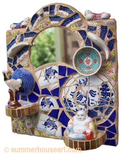 Feng Shui Mosaic, Helen Bushell, summerhouseart.com