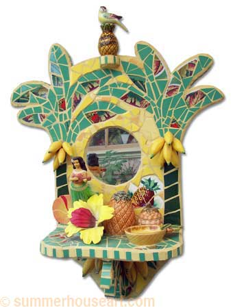 Aloha Shrine by Helen Bushell, summerhouseart.com