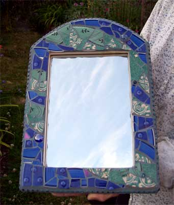 Jane's mirror frame completed