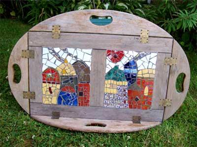 Rahni's table mosaic