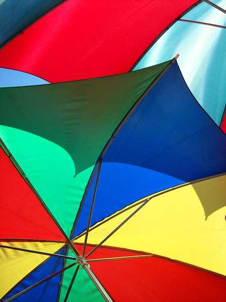two-umbrellas