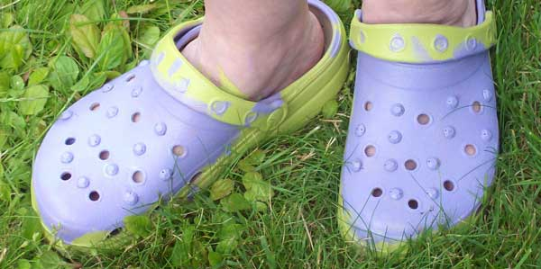 shoes-painted