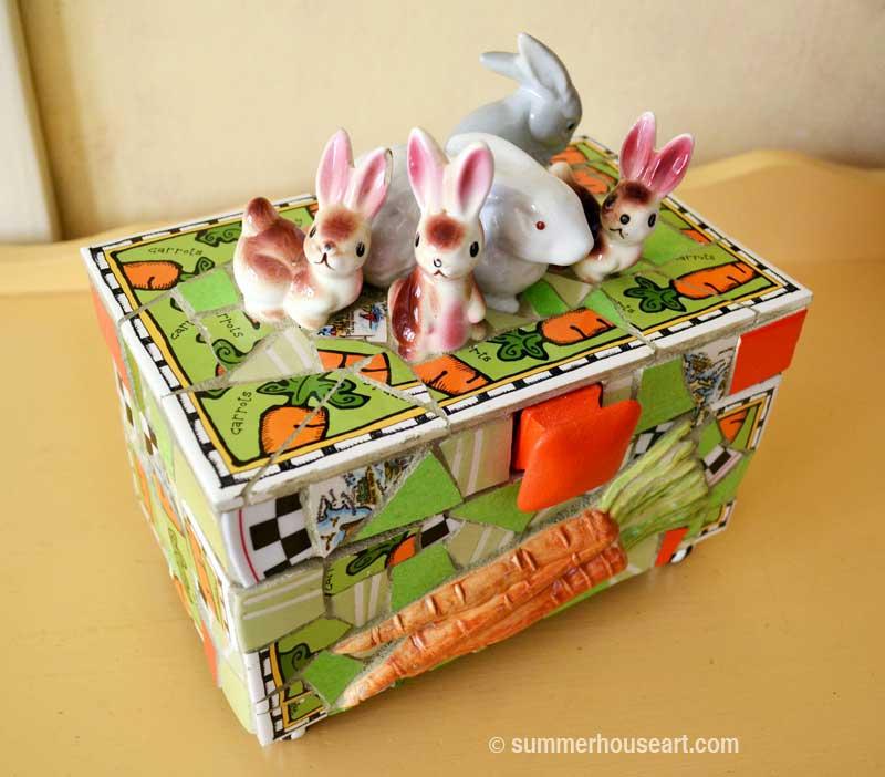 The Bunny Box by Helen Bushell summerhouseart.com