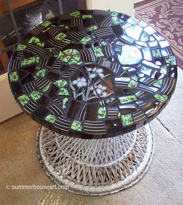Vicki's Mosaic Table