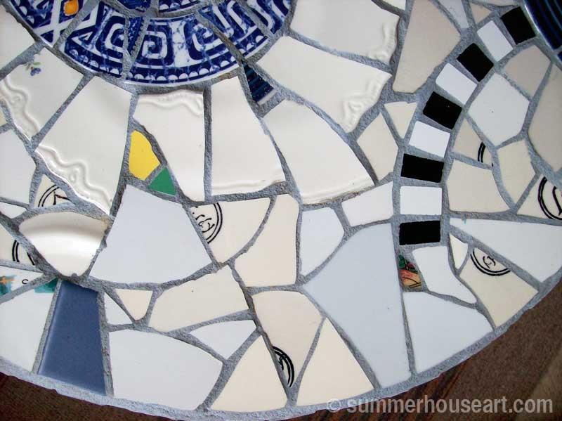 Blue Fandango Mosaic