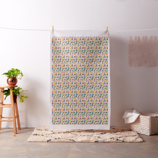 Triangle Treat Fabric, on Zazzle, SummerhouseArt