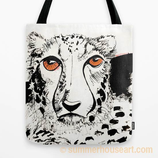 Cheetah by Will Bushell on Society 6