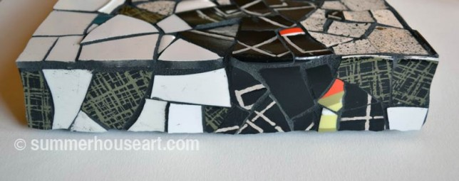 Top side Speckled mosaic, by Helen Bushell summerhouseart.com