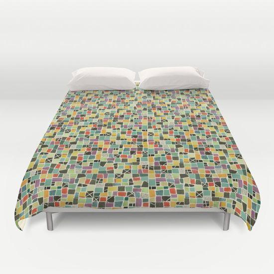 Triangle Treat-mosaic-leggings by Summerhouse Art