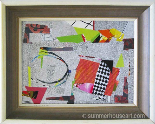 Paper collage Helen Bushell, summerhouseart.com