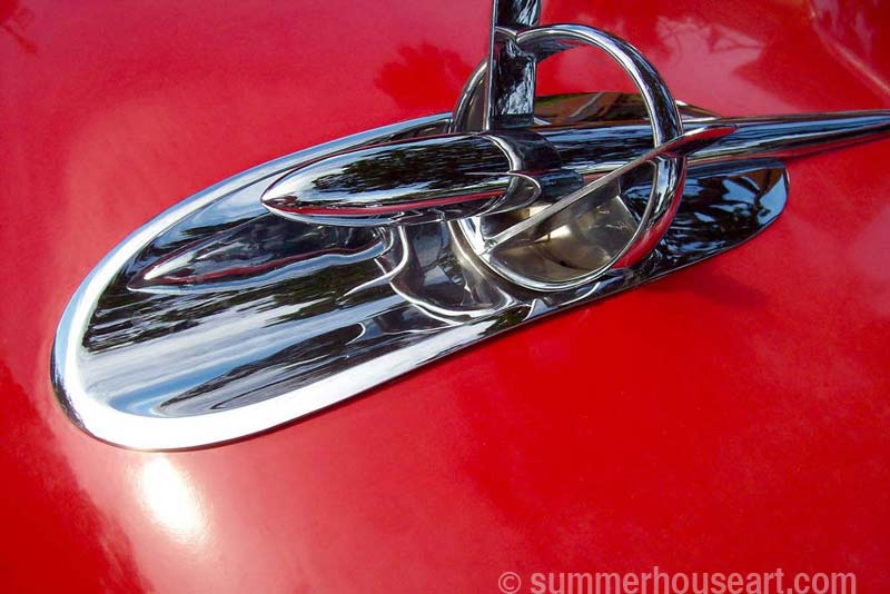 Hood Ornament photo, Will Bushell, summerhouseart.com