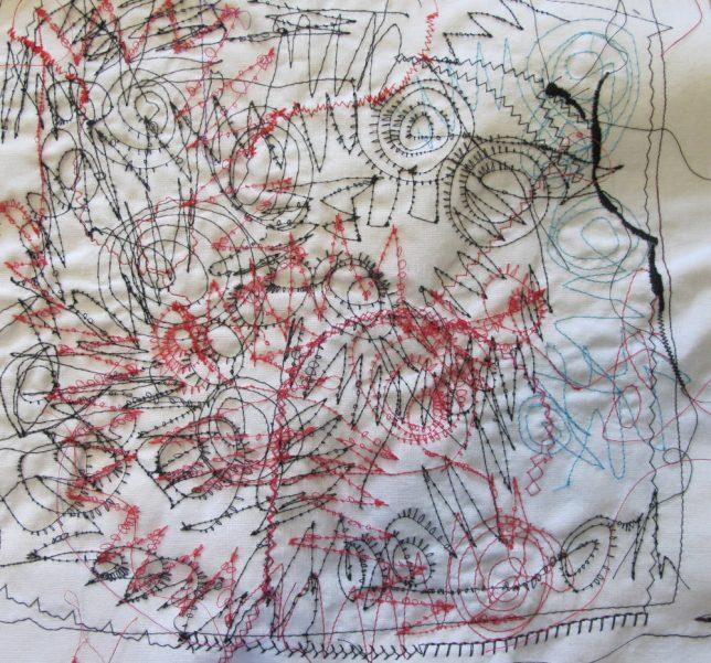 free motion thread side 2, Helen Bushell, summerhouseart.com